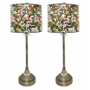 Self Crystal 28 Buffet Lamp (Set of 2)