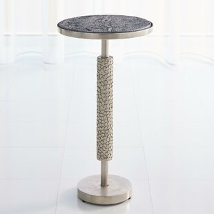 Hammered Martini End Table by Global Views Comparison