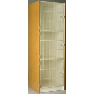 Music 3 Tier 1 Wide Storage Locker by Stevens ID Systems