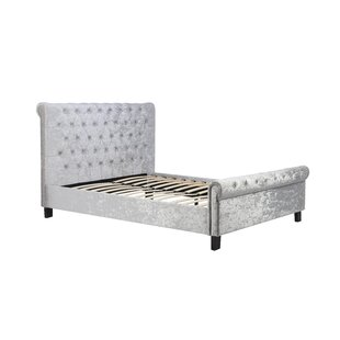 Sage Upholstered Sleigh Bed By Willa Arlo Interiors