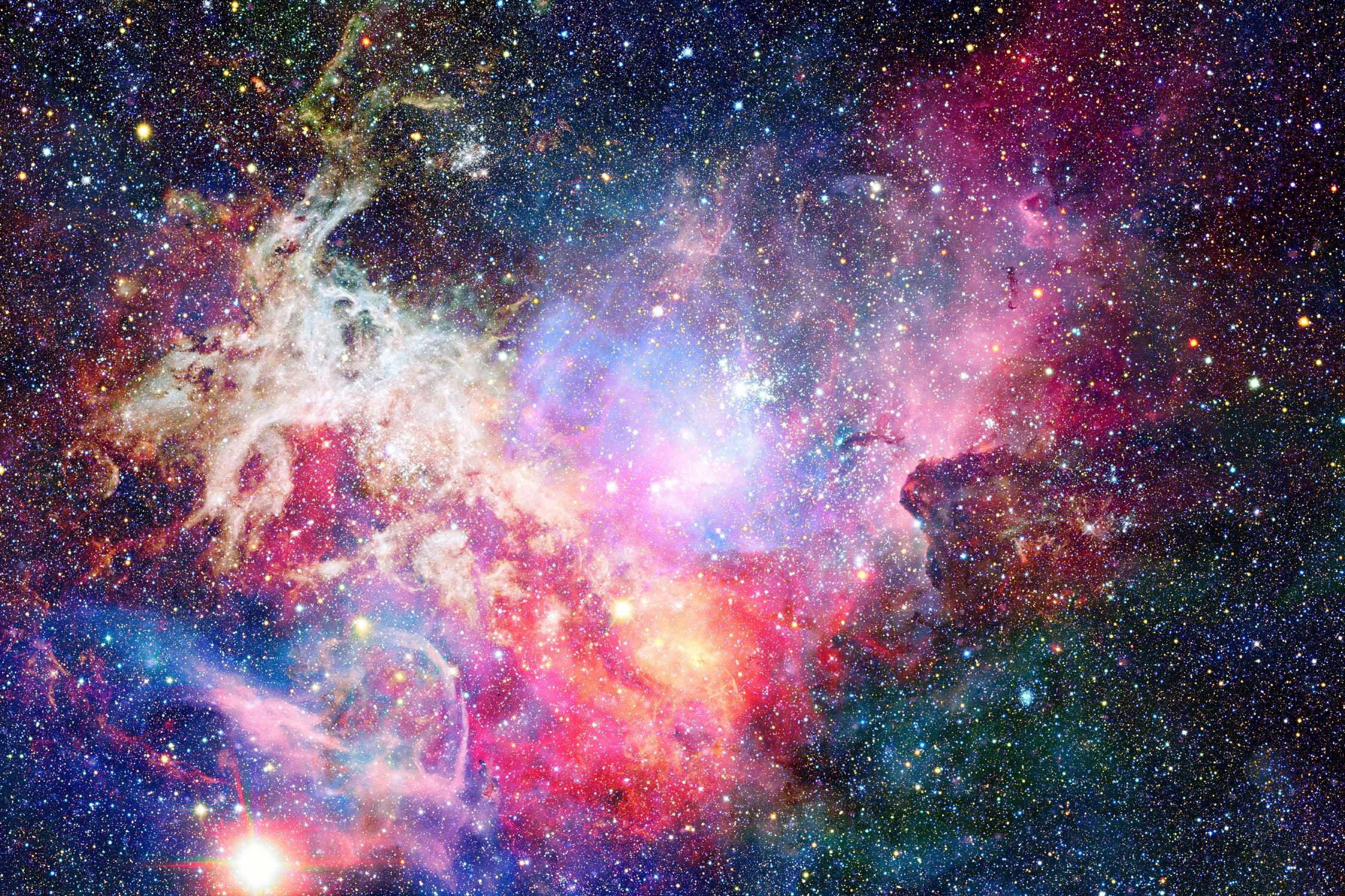lyndon removable nebula space watercolor galaxy 392 l x 75 w peel and stick wallpaper roll