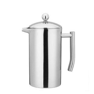 4.25-Cup Double Wall Stainless Steel French Press Coffee Maker