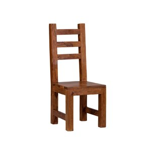 On Sale Cubus Solid Wood Dining Chair (Set Of 2)