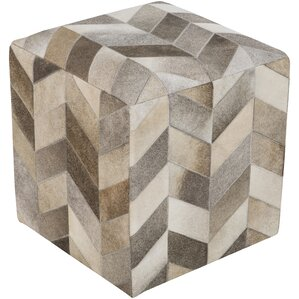 Egidio Leather Ottoman by Willa Arlo Interiors