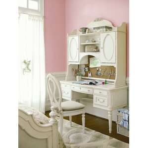 Chassidy 2 Drawer Hutch by Harriet Bee