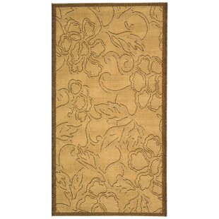 Herefordshire All Over Dark Tan Indoor/Outdoor Area Rug