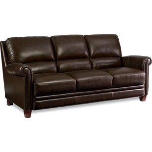 Julius Leather Sofa by La-Z-Boy