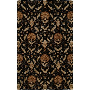 Hand-Tufted Black Area Rug By The Conestoga Trading Co.