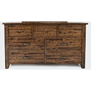 Loon Peak Reddin 7 Drawer Dresser