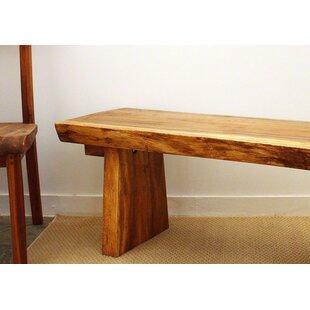 Derringer Wood Bench by Loon Peak