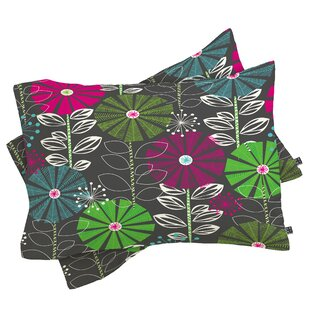 Cape Town Blooms Pillow Case by East Urban Home Best #1