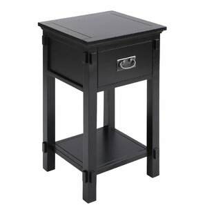 Bunceton End Table with Storage by Alcott Hill