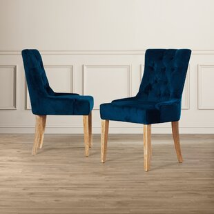 Briella Upholstered Dining Chair (Set of 2) Willa Arlo Interiors