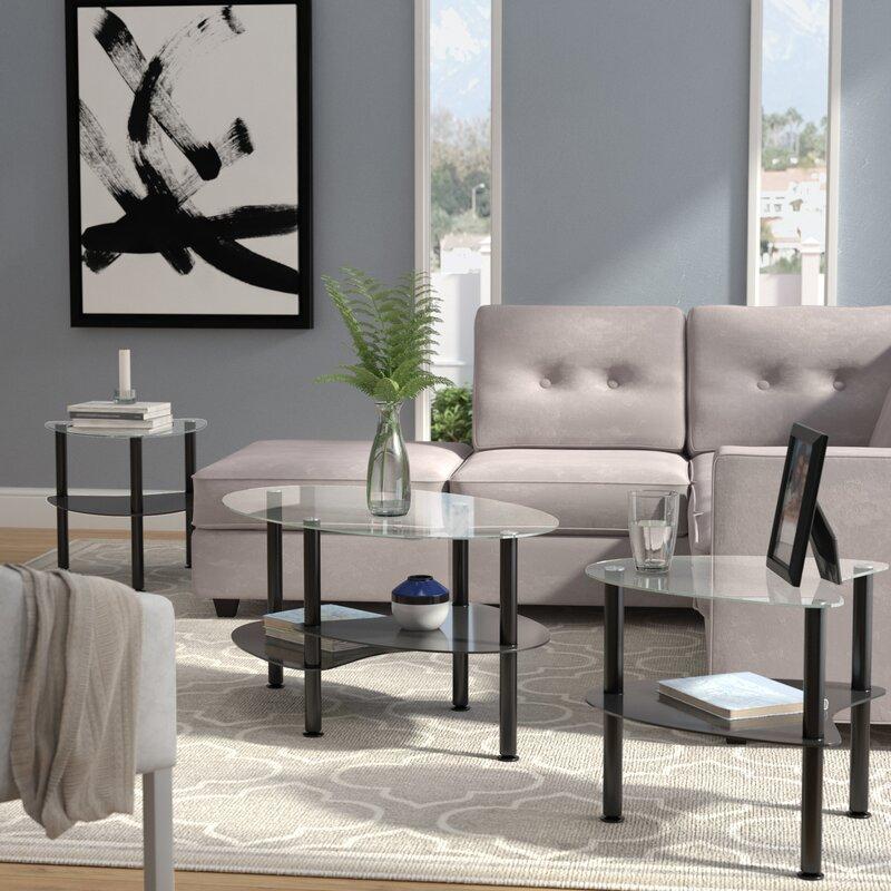 living room end table sets.  Coffee Table Sets You ll Love Wayfair