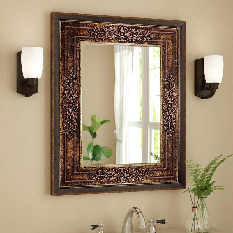 Bronze Cherry Bathroom/Vanity Mirror