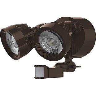 24-Watt Outdoor Security Flood Light with Motion Sensor by Nuvo Lighting