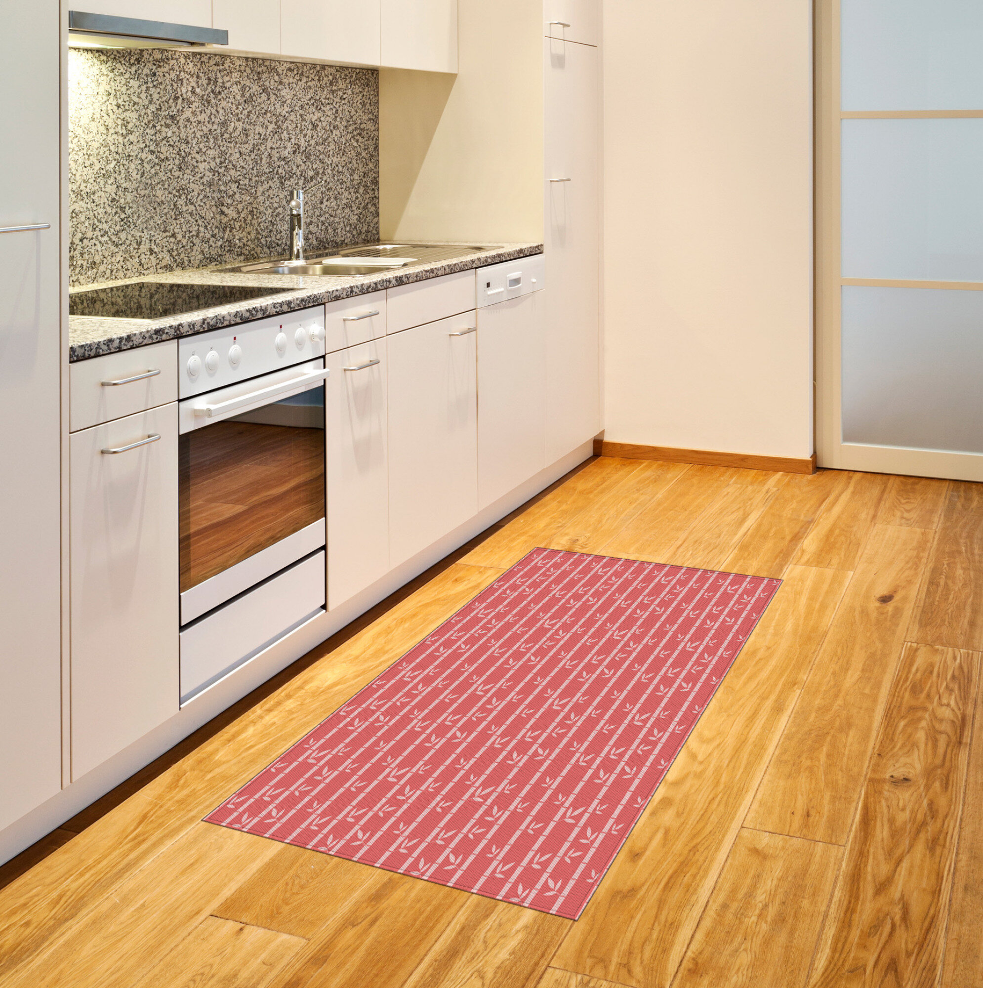 East Urban Home Forest Pink Area Rug