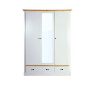 Sandringham 3 Door Wardrobe By Beachcrest Home