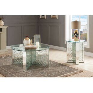 Busse 2 Piece Coffee Table Set by Everly Quinn