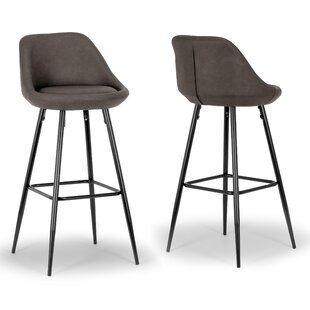 Aldis Bar Stool (Set of 2) Glamour Home Decor