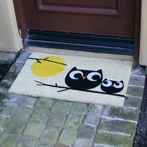 Affection! Owl Doormat