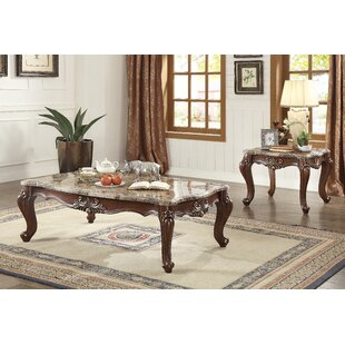 Astoria Grand Camren 2 Piece Coffee Table Set