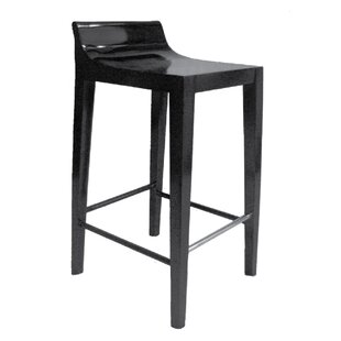 Schroer Modern Luxury Low Back 30 Bar Stool by Orren Ellis