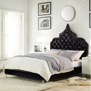 Lyles Tufted Upholstered Low Profile Standard Bed by House of Hampton