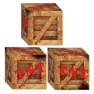 TNT Crate Favor Decorative Box