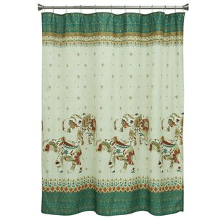 Cece Elephant Single Shower Curtain