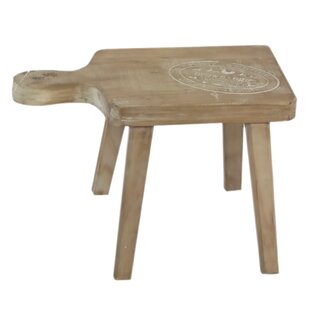 Boxford Wooden Stool By Alpen Home