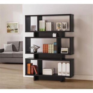 Newkirk Geometric Bookcase by Brayden Studio