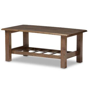 Baxton Studio Coffee Table by Wholesale Interiors Reviews