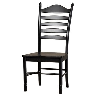 Biermann Solid Wood Dining Chair By Brambly Cottage