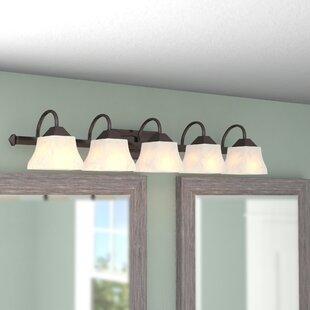 Reviews Chan 5-Light Vanity Light ByFleur De Lis Living
