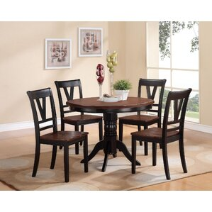 Clifton 5 Piece Dining Set by A&J Homes Studio