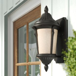 1-Light Outdoor Sconce by Beachcrest Home