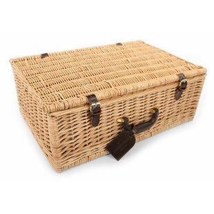 Beaulieu Willow Picnic Hamper For Four People By Beachcrest Home