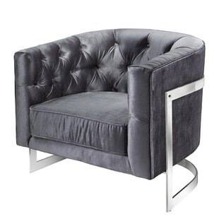 Everly Quinn Kincheloe Modern Style Barrel Chair