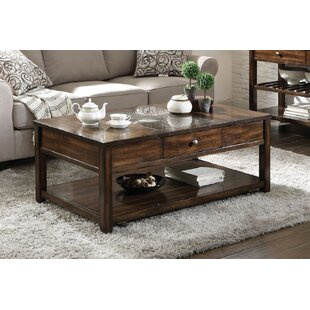 Conerly Marble Inlay Lift Top Coffee Table By Darby Home Co