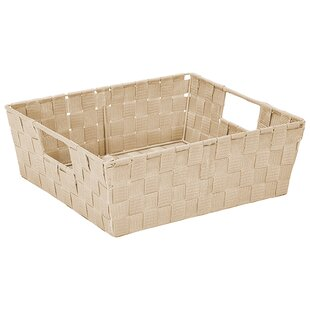 Fabric Basket (Set of 2) Rebrilliant