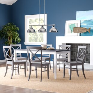 Lehigh Acres 7 Piece Dining Set by Beachcrest Home Best Choicest