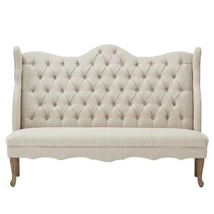 Janell Linen Tufted Upholstered Bedroom Bench by Birch Lane™ Heritage New Design
