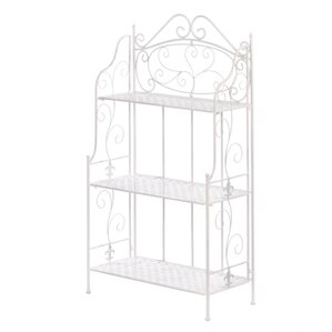 Basket Weave Bakers Rack by Zingz & Thingz