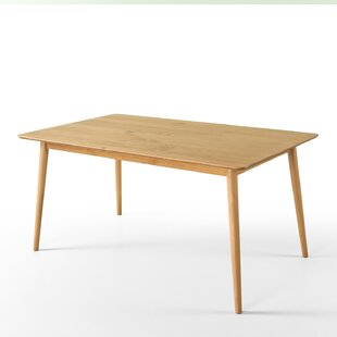 Goodyear Mid Century Modern Wood Dining Table