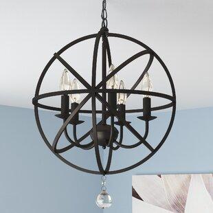Darby Home Co Albano Foyer 5-Light Globe ..