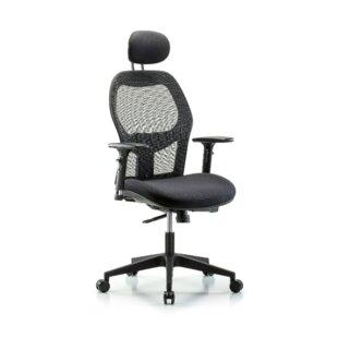 Symple Stuff Peter Executive Desk Height Ergonomic Office Chair
