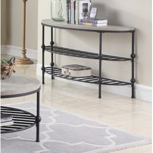 Connor Golden Console Table
