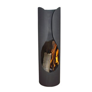 Brookridge Steel Wood Burning Chiminea By Sol 72 Outdoor