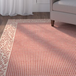 Herefordshire Red/Beige Indoor/Outdoor Rug